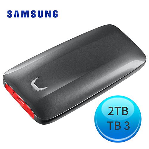 Samsung 三星 X5 2TB Thunderbolt 3 可攜式固態硬碟