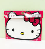 【震撼精品百貨】Hello Kitty 凱蒂貓~HELLO KITTY 車用造型止滑墊(頭型紅)