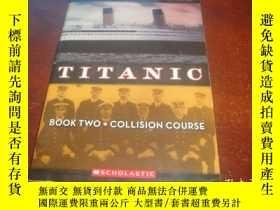 二手書博民逛書店Collision罕見Course (Titanic #2)Y1