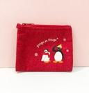 【震撼精品百貨】Pingu_企鵝家族~零錢包附面紙套-紅#76868