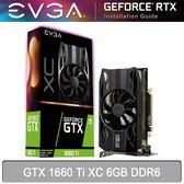 【免運費】EVGA 艾維克 GTX 1660 Ti XC GAMING 6GB DDR6 顯示卡 06G-P4-1263-KR