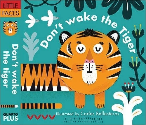 【睡前表情遊戲書】DON'T WAKE THE TIGER! (主題:動物)