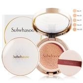 Sulwhasoo 雪花秀 完美瓷肌氣墊粉霜SPF50+ PA+++(15gX2)#21 NATURAL PINK