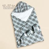 【金安德森】KA棉質水格紋包巾(春夏款)