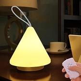 超亮LED家用應急照明手提燈戶外露營帳篷燈掛式野營燈充電小夜燈 橙子精品