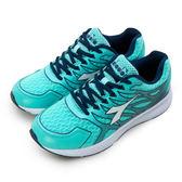 LIKA夢 DIADORA 迪亞多那 專業輕量避震慢跑鞋 天空之翼系列 綠藍 6005 女