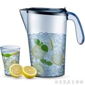 美國BTIF夏季冷水壺耐高溫塑料冰箱涼水杯夏天水壺家用大容量套裝 中秋節全館免運