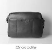 Crocodile Luster系列橫式斜背包0104-07102