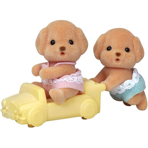 森林家族 玩具貴賓狗雙胞胎_EP14203