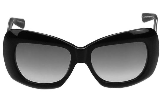 Emporio Armani-時尚太陽眼鏡 (黑色)
