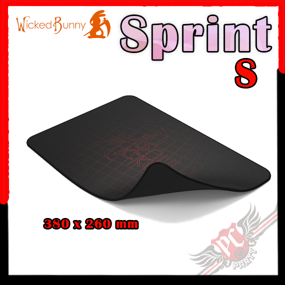 [ PC PARTY ] Wicked Bunny Cordura Sprint 電競滑鼠墊 S