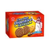 義美巧克力消化餅260g【愛買】