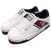 Royal Elastics 休閒鞋 Icon Alpha 白 紅 無鞋帶設計 皮革鞋面 女鞋【PUMP306】 92073010