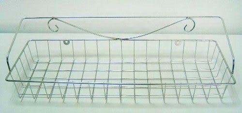 《家購網寢俱館》不鏽鋼壁式置物架