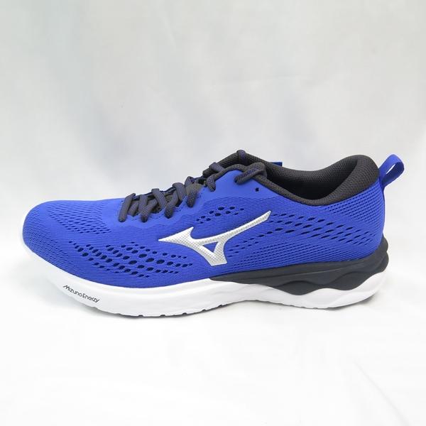 Mizuno WAVE REVOLT 2 男款 慢跑鞋 J1GC218104 藍 大尺碼【iSport愛運動】