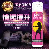 德國Pjur Myglide女用熱感潤滑液 100ml 宜潤潤滑油原裝進口 女用提升凝露水溶性潤滑液