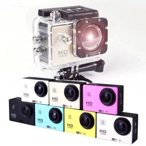 【Love Shop】大配件+運動攝影機 HD1080 防水防震 重機自行車 浮潛水衝浪 行車紀錄器/可參考