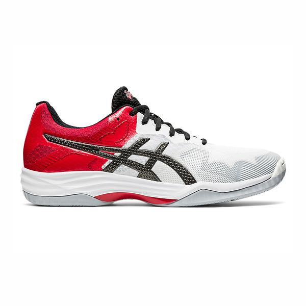 Asics Gel-tactic 2 [1071A031-101] 男鞋 羽排鞋 透氣 輕量 彈性 緩衝 亞瑟士 白黑紅