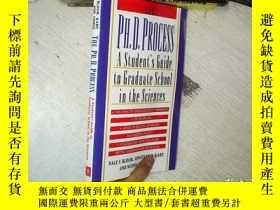二手書博民逛書店THE罕見PH.D.PROCESS A Student s Gu