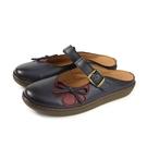 HUMAN PEACE 休閒鞋 涼鞋 藍色 牛皮 女鞋 7323 no361