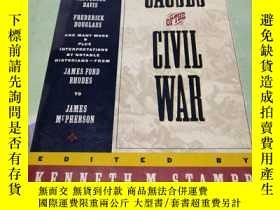 二手書博民逛書店THE罕見CAUSES OF THE CIVIL WAR(內戰的