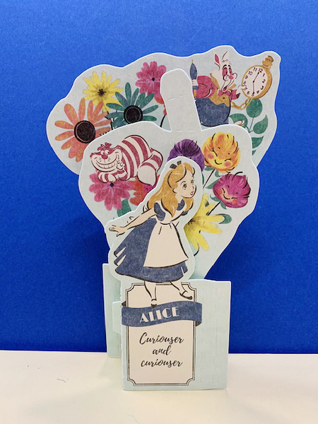 【震撼精品百貨】公主 系列Princess~立體卡片-愛麗絲*60167