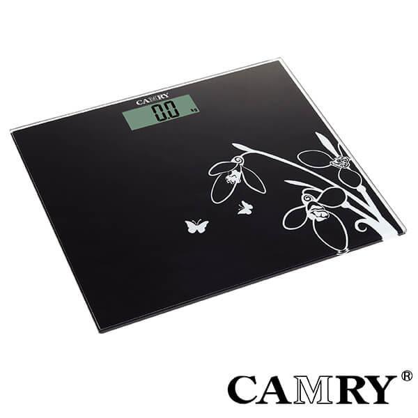 【CAMRY】舞蝶時尚數位體重計(輕薄型) 電子體重計 健康秤 精準電子秤 家用