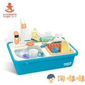 兒童洗碗機玩具家家酒切切樂女孩寶寶過家家廚房套裝【淘嘟嘟】