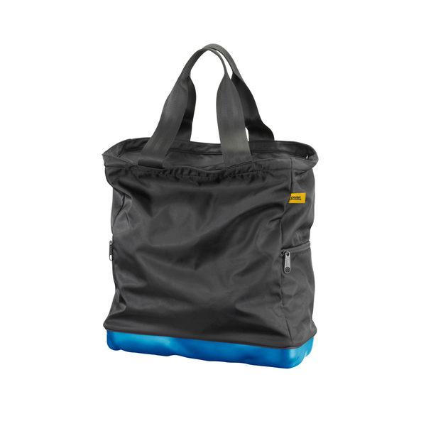 Crash Baggage Bump Bags Collection 前衛霧面 龐克系列 防潑水 托特包 / 側背包(黑色提袋 - 輕漾藍硬殼 )