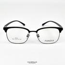 配眼鏡 文藝風方圓型半眉框NYA75