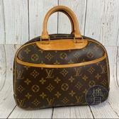 BRAND楓月 LOUIS VUITTON LV M42228 經典 原花 皮革 小珍包 手提包