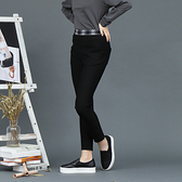 【中大尺碼】時尚配格彈性長褲
