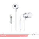 OPPO 原廠 MH124 高品質入耳式耳機 3.5mm各廠牌適用/ 線控接聽鍵/ 免持聽筒 - 白色款