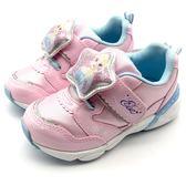 《7+1童鞋》中童 日本 月星 MOONSTAR 冰雪奇緣 聯名款  運動鞋  機能鞋  C480  粉色