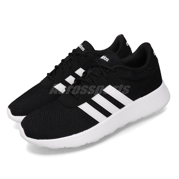 adidas 休閒鞋 Lite Racer 黑 白 女鞋 運動鞋 【ACS】 EH1326