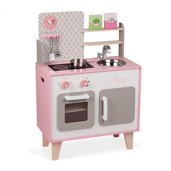 【法國 Janod】妙廚師好料理 粉紅廚具組/廚房 J06567