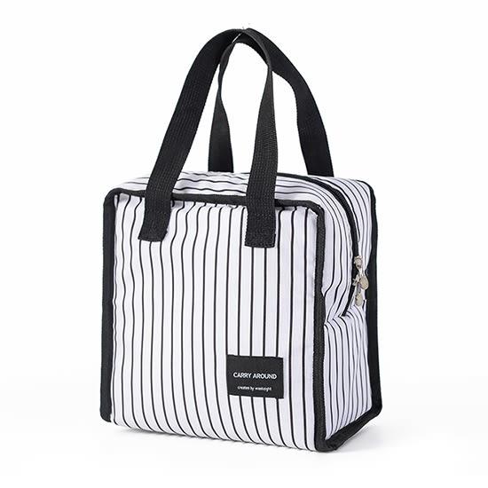 便當袋 便當 收納包 保冷袋 保溫袋 手提包 環保袋 收納袋 簡約正方保溫便當袋(短)【L13-2】MY COLOR