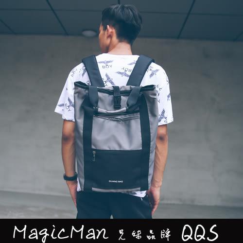 後背包 雙肩拼色潮(QJ0583)★Magicman兄妹品牌QQS★預購