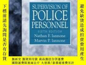二手書博民逛書店Supervision罕見Of Police Personnel