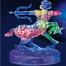 3D立體水晶拼圖 12星座 立體拼圖 (射手座-發光) 聖誕節 交換禮物 情人 生日-艾發現