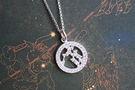 925銀+鋯石小星星 水瓶座 Aquar...