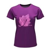 LAFUMA 女 CORPORATE 短袖排汗衣 紫 LFV115509124【GO WILD】