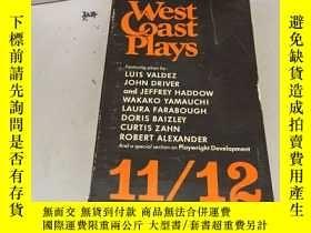二手書博民逛書店英文原版:West罕見Coast Plays 11 12Y182