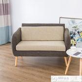 沙發 北歐單人雙人沙發組合簡約休閒布藝沙發小戶型現代客廳臥室沙發椅   居優佳品igo