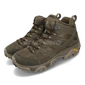 Merrell 戶外鞋 Moab 2 Mid GTX Wide 寬楦 綠 灰 男鞋 運動鞋 【ACS】 ML99773W
