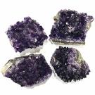 『晶鑽水晶』天然特級烏拉圭紫晶花 約7-8.5cm 220g 超紫亮 開發智慧 提升考運 辦公桌 書桌 擺件