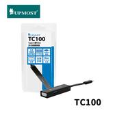 UPMOST 登昌恆 TC100 Type-C 轉 VGA 多功能轉換器