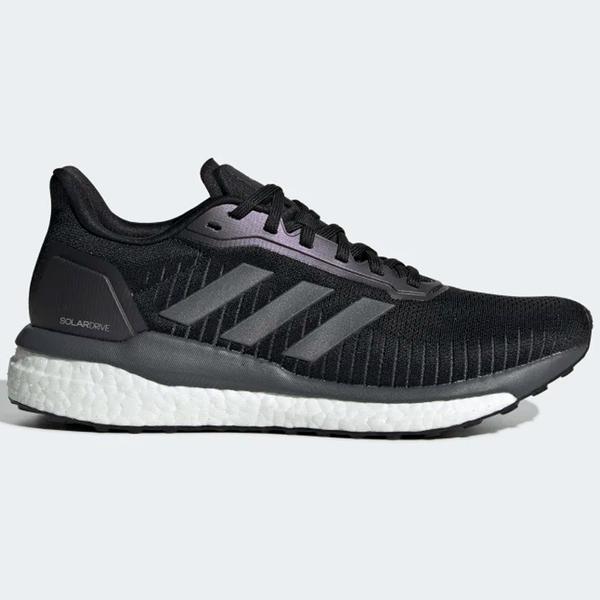 ADIDAS SOLAR DRIVE 19 女鞋 慢跑 緩震 透氣 網布 Boost中底 舒適 黑【運動世界】EF1419