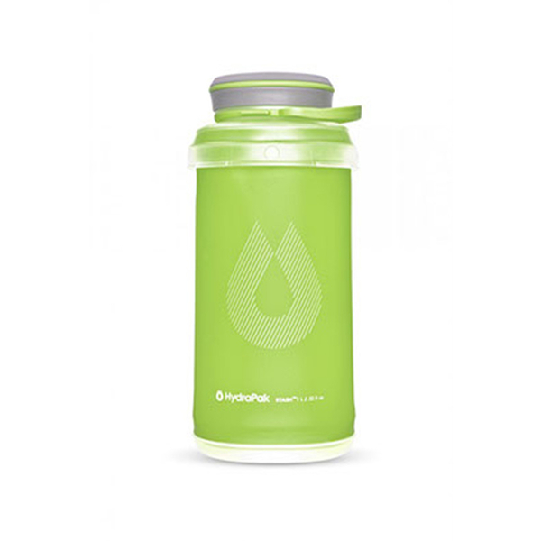 HydraPak Stash Bottle 可擠壓式圓盤軟式水壺 1L 綠