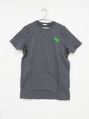 【Abercrombie & Fitch】 男款短袖純棉T恤 - 深灰/M